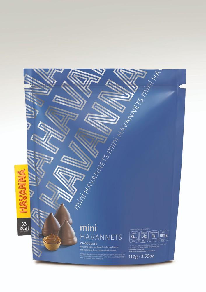 Mini havannet chocolate Bolsa 112 gramos