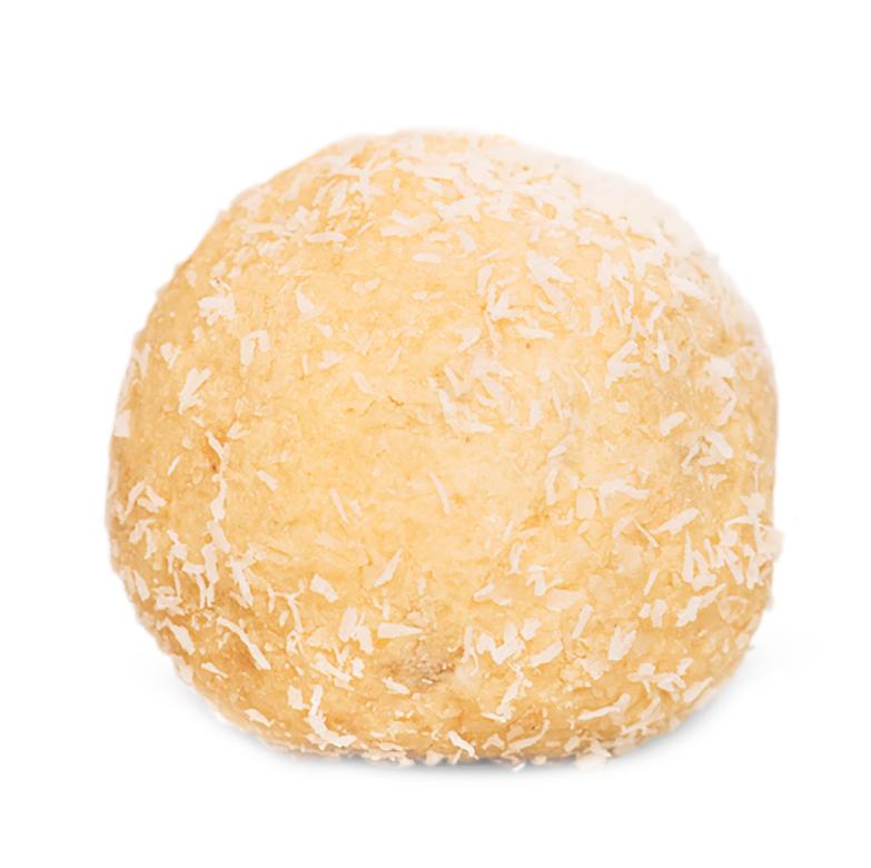 White choc protein ball