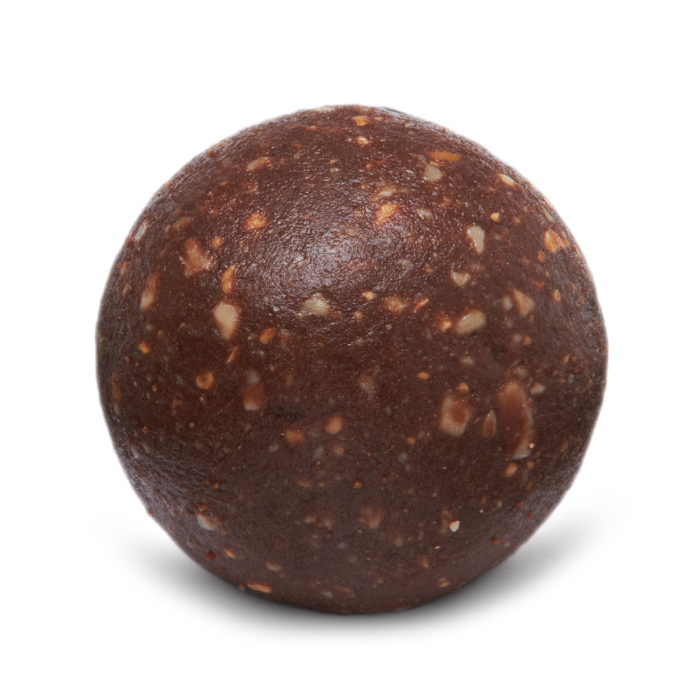 Cranberries & cacao protein ball