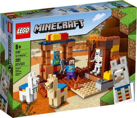 Bloques Minecraft puesto comercial 1 set