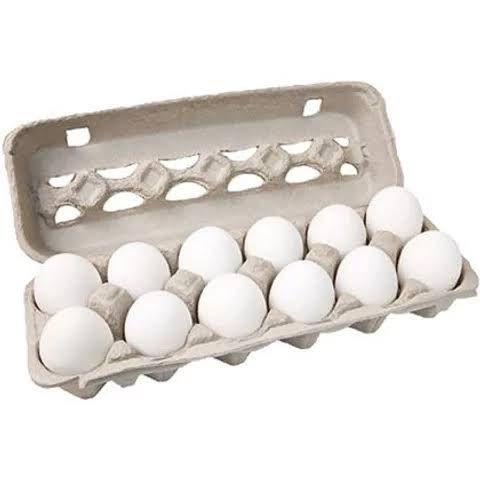 Ovos brancos grandes