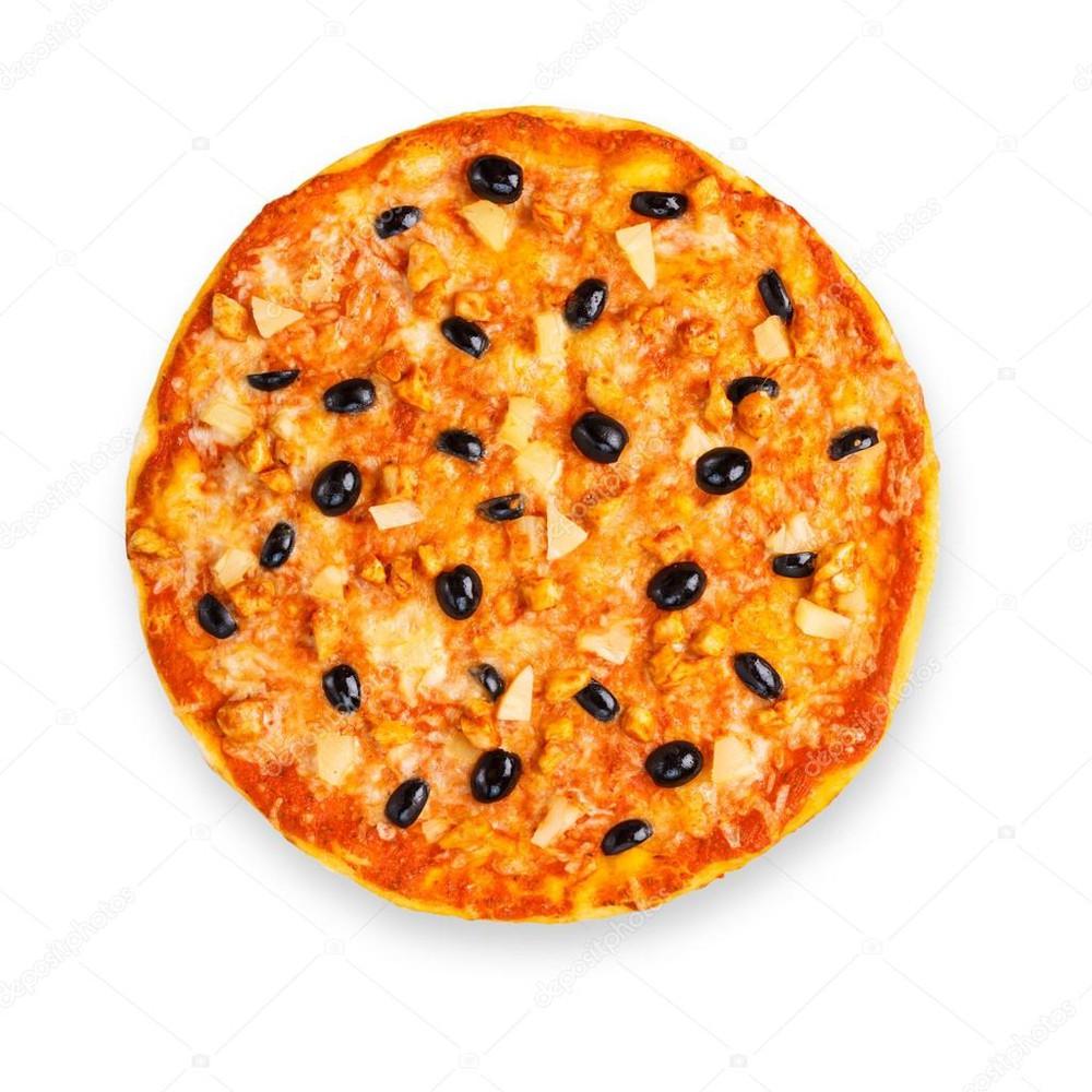 Pizza aceitunas Familiar