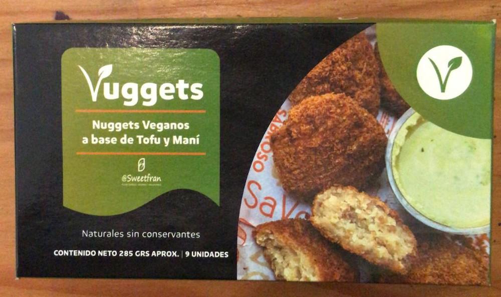 Vuggets, nuggets veganos a base de tofu y maní