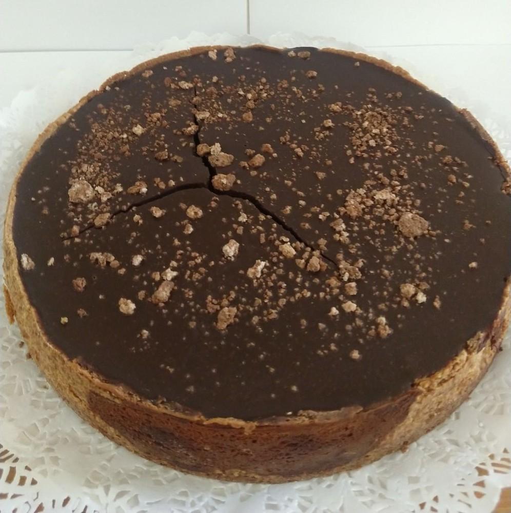 Cheesecake de nutella 8 porciones