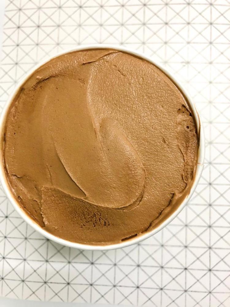 Helado zero de chocolate Pote 32 oc