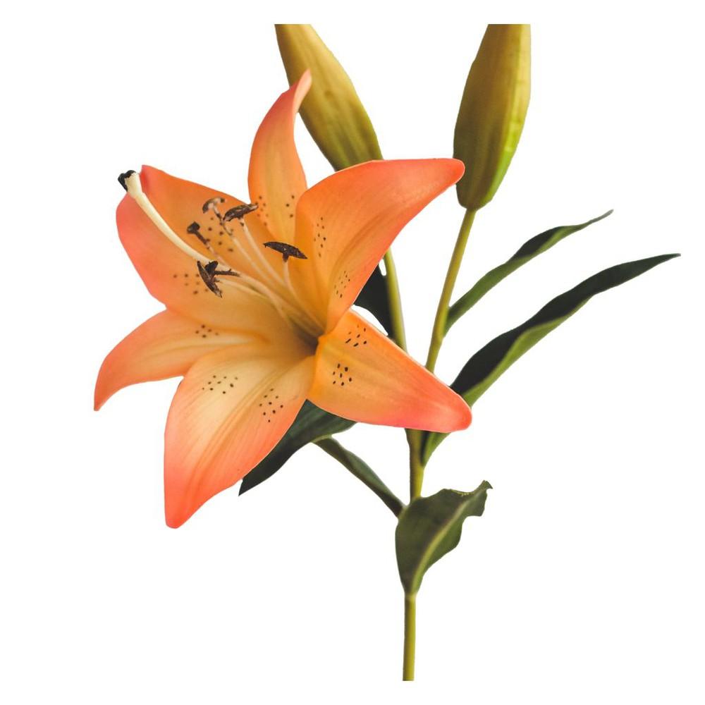 Lilium rosado/naranjo 68,5 cm