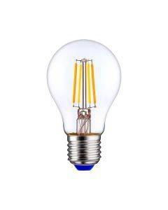 Ampolleta Led Filamento A60 8W Luz Cálida E27