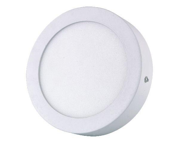 Panel Led Circular Sobrepuesto 12W Luz Blanco Neutro