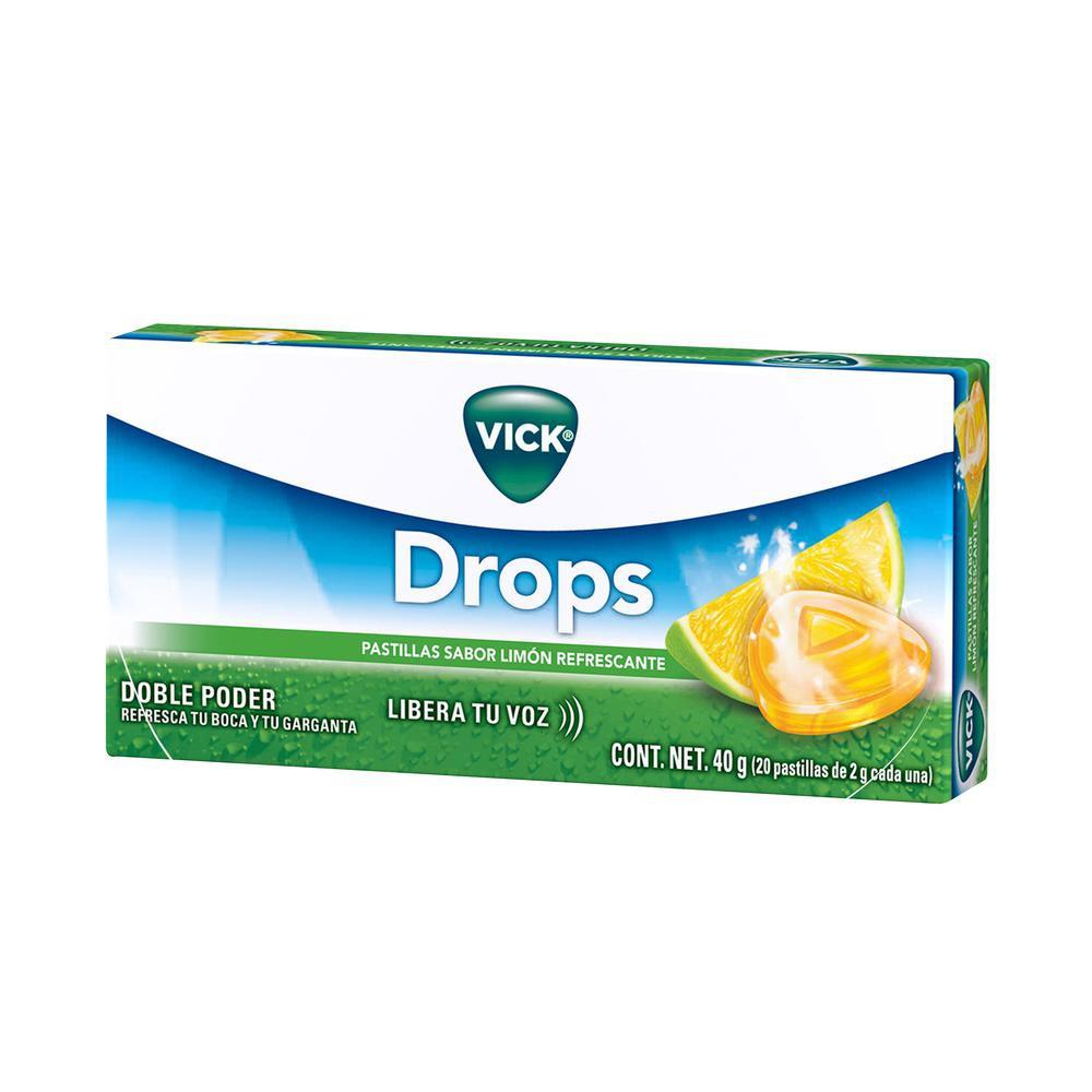 Pastillas sabor limón