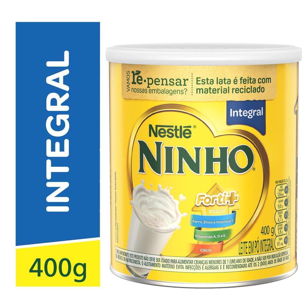 Leite em pó integral Ninho fort+