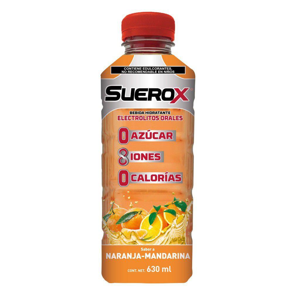Bebida hidratante naranja mandarina
