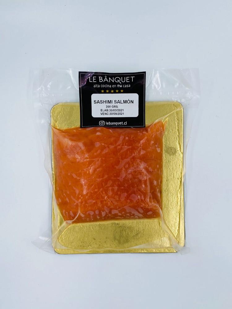 Sashimi de salmón - 200 gr