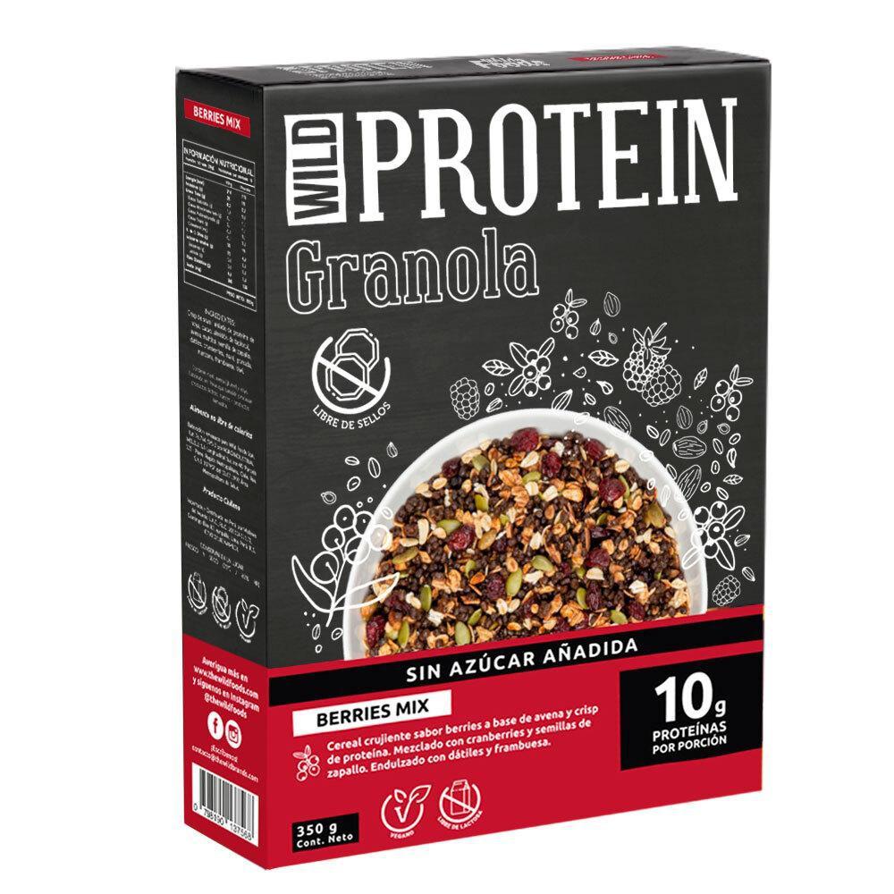 Granola mix berries 350 gr