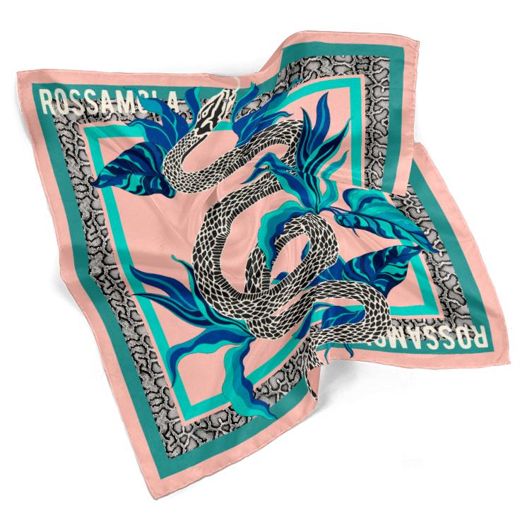 Pañuelo Bicha Snake Mediano (70x70cm)