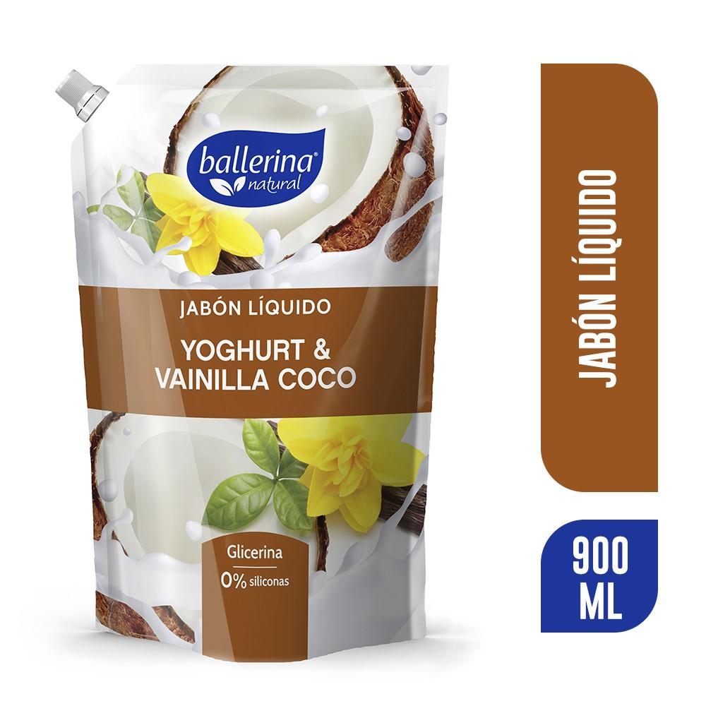 Jabon liquido yoghurt vainilla coco