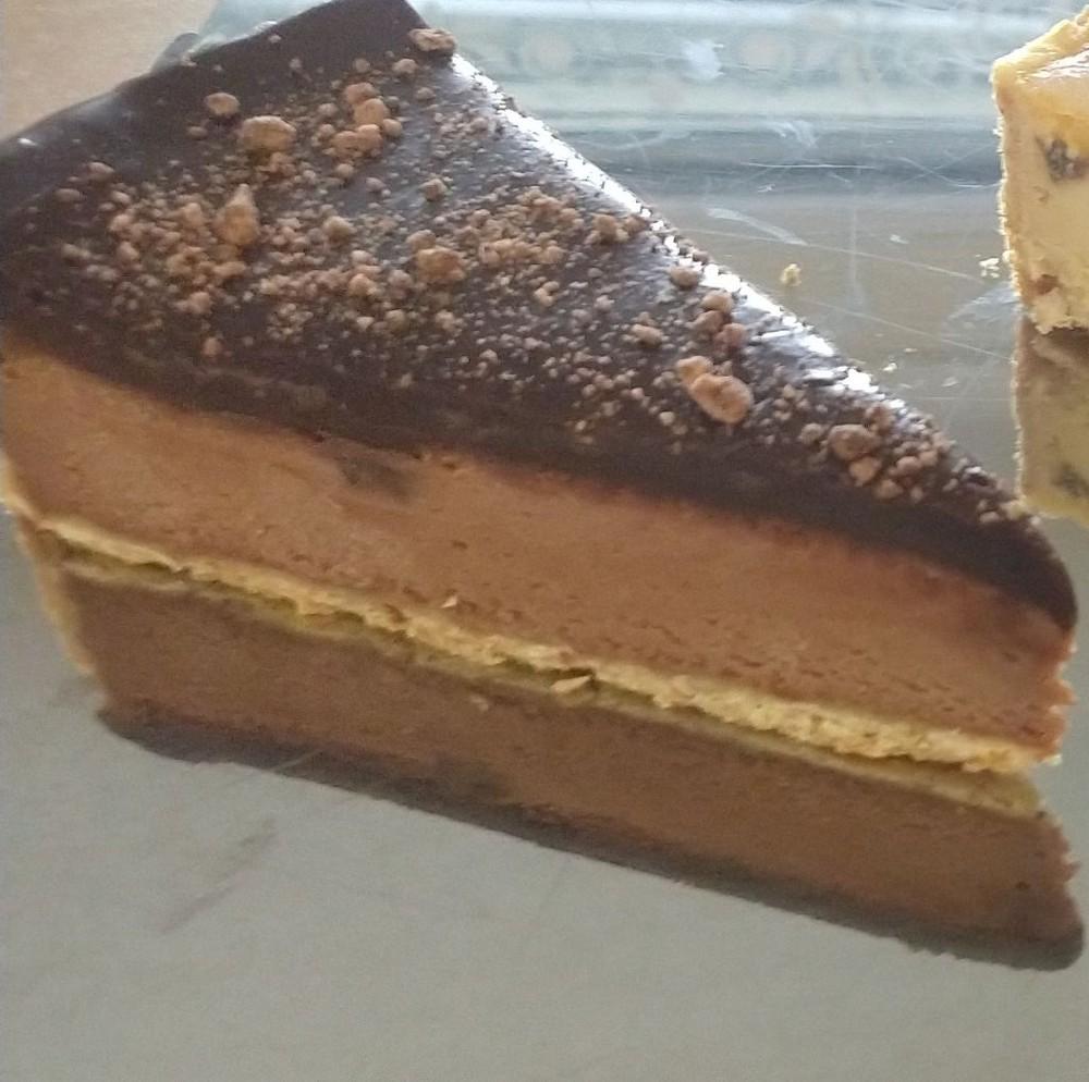 Porción cheesecake de nutella 170 gramos