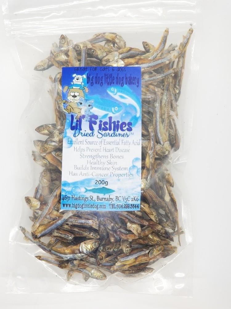 Lil' fishies dried sardines 200gr