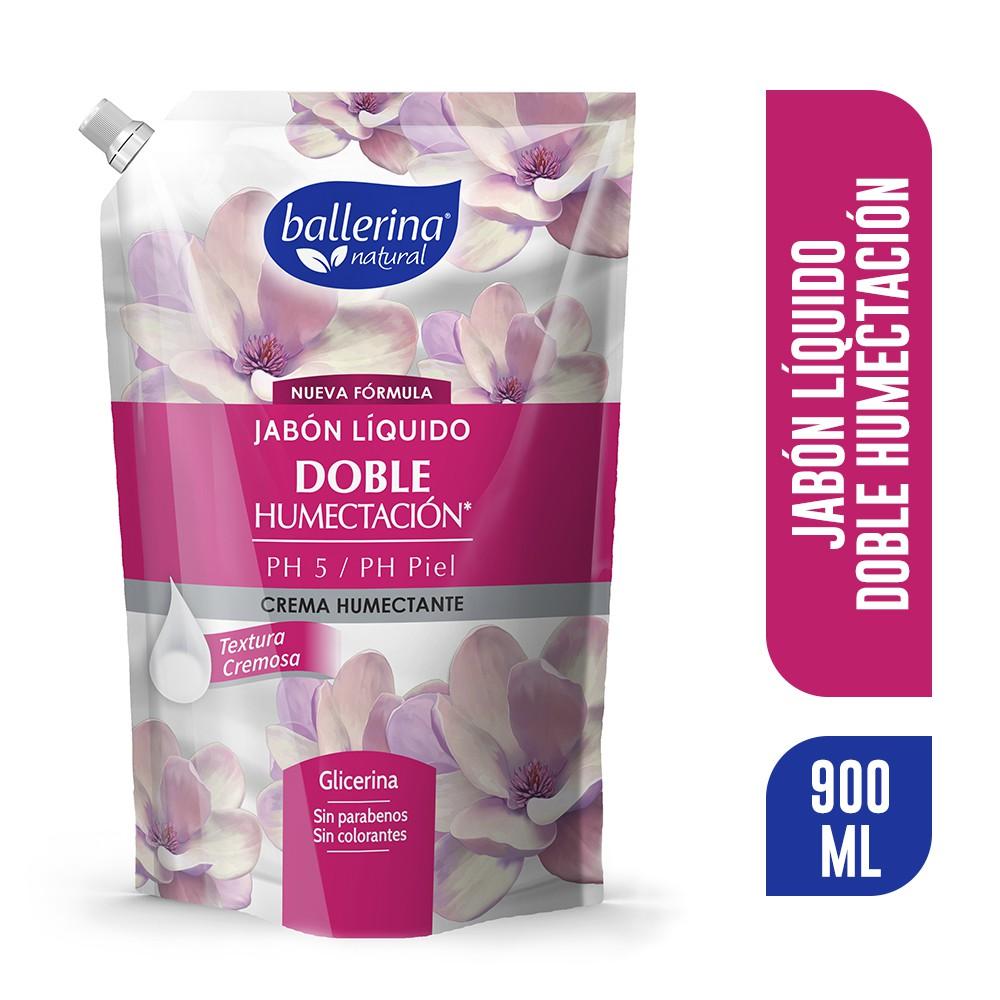 Jabón doble humectación crema humectante