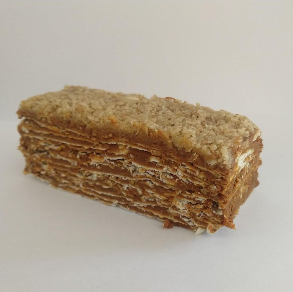 Porción torta de hojarasca 0% azúcar 245 gramos