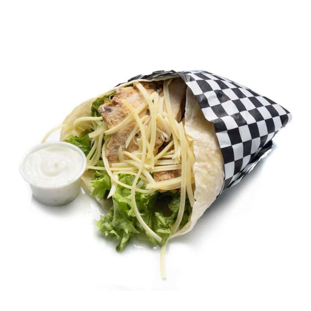 Wrap pollo cesar individual