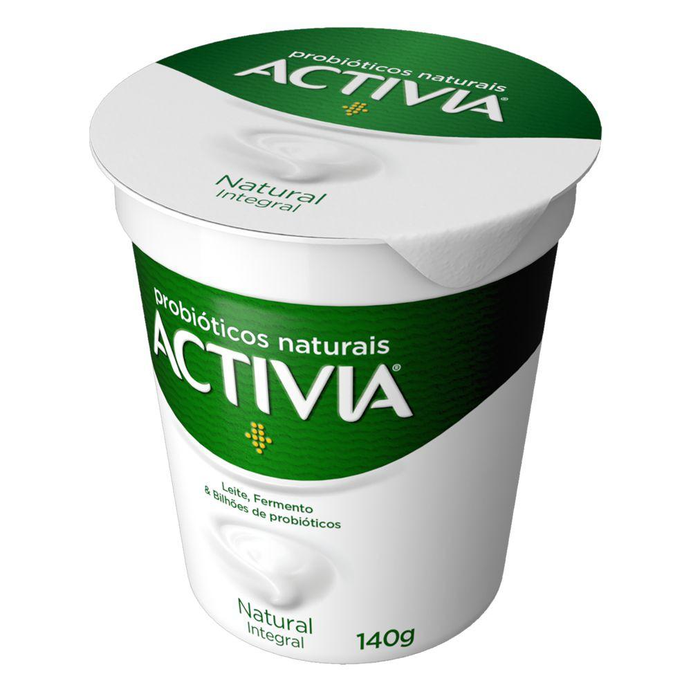 Iogurte fermentado natural integral