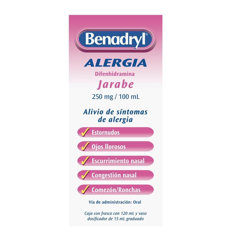 Clorhidrato de difenhidramina 250 mg