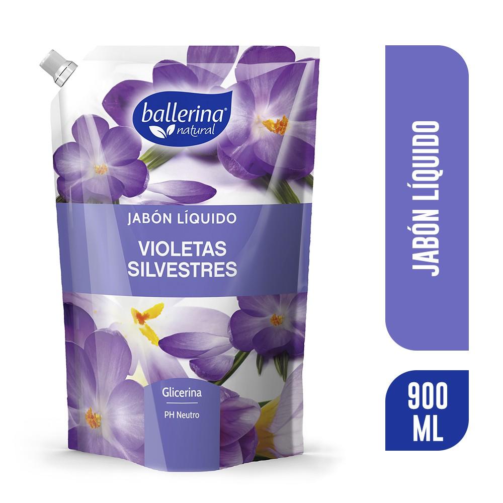Jabón liquido violetas silvestres