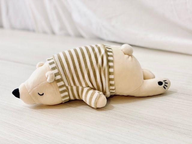 Peluche oso dormilón 20X30 APROX