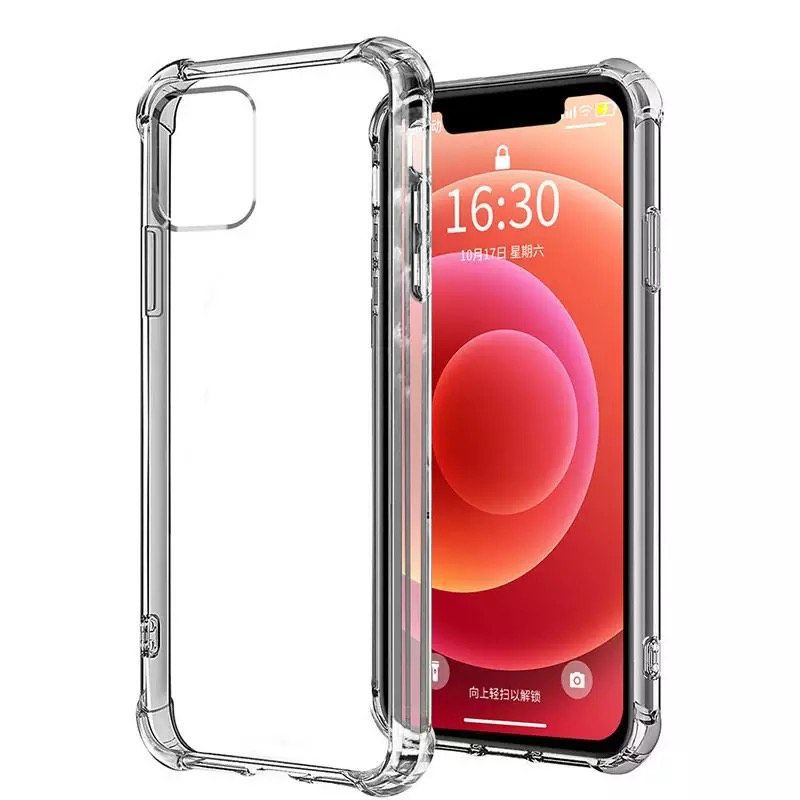 Carcasa antishock transparente iphone 11 Compatible con Iphone 11