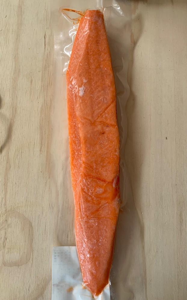 Sashimi de trucha Sellado al vacío 300 g aproximadamente.