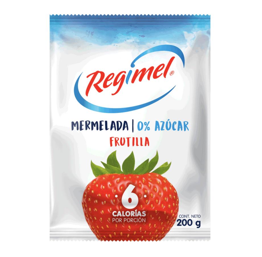 Mermelada de frutilla sin azúcar
