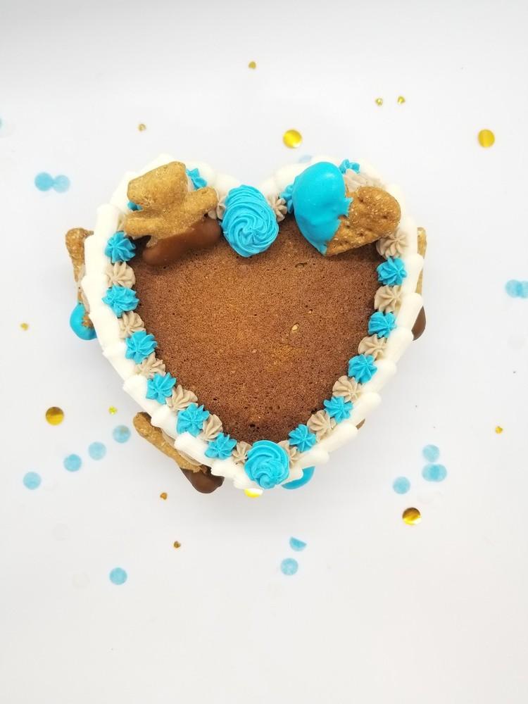 Luv ya cake - blue