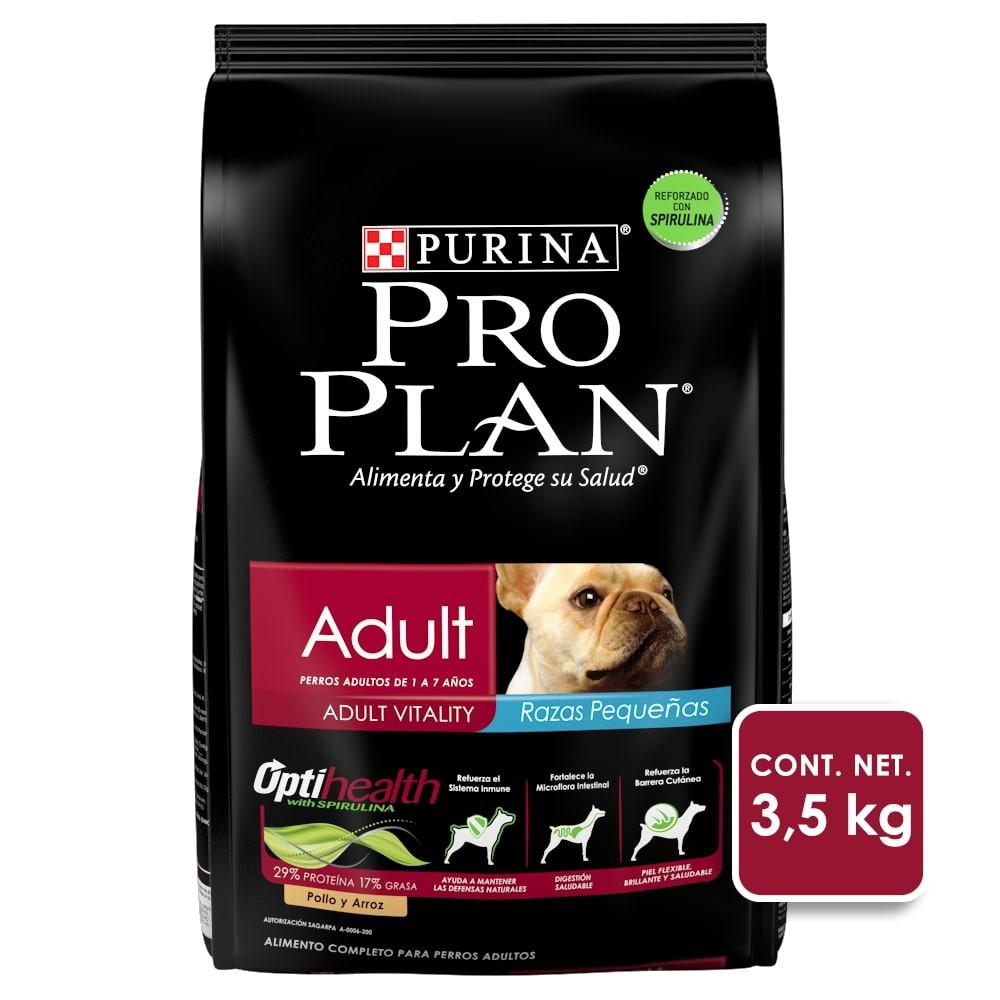 Alimento para perro adult razas pequeñas optihealth