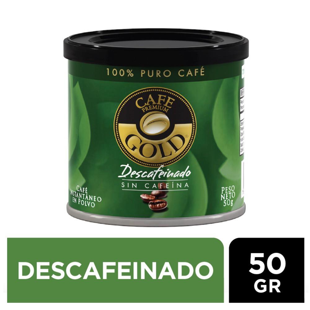 Café descafeinado instantáneo