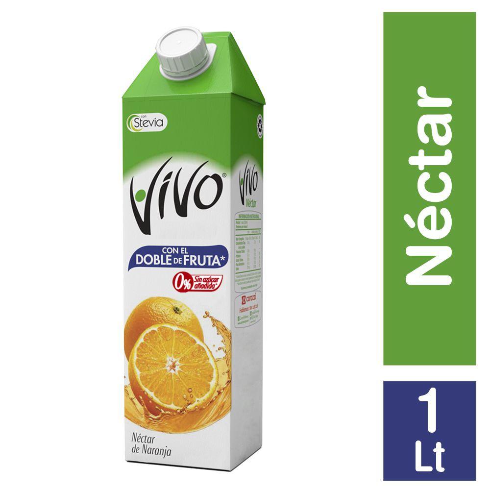 Néctar sin azúcar sabor naranja