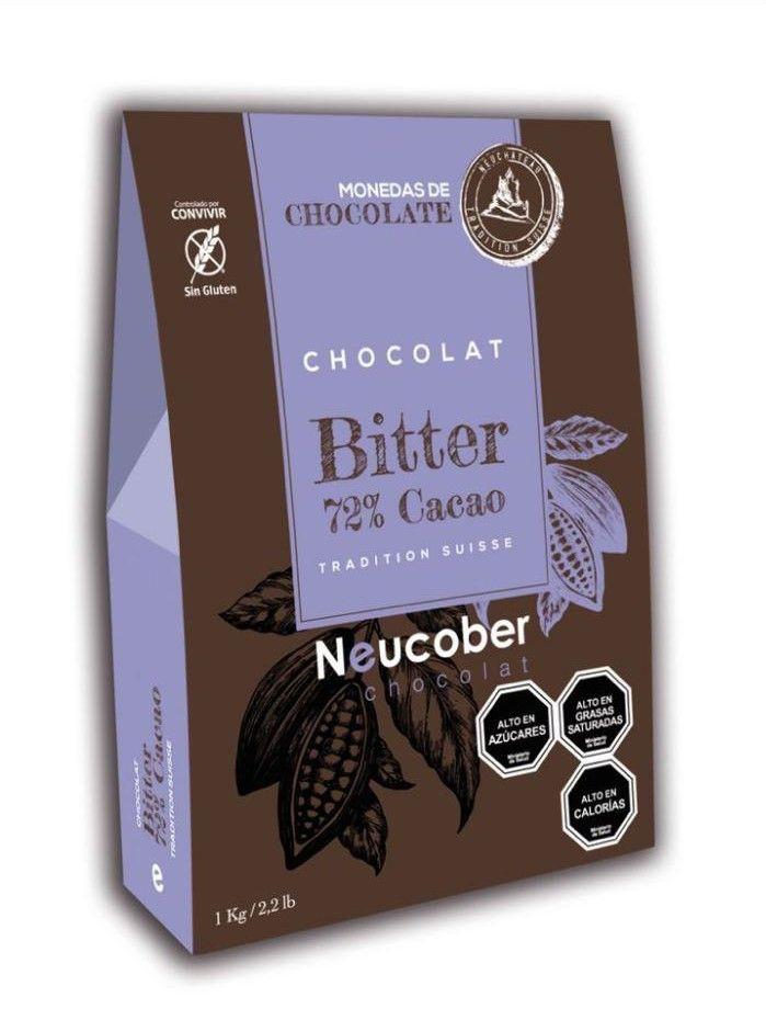 Neucober bitter 72% cacao 1 kg