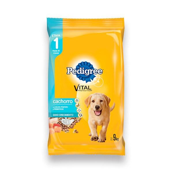 Alimento para perro cachorro sabor carne, pollo y leche