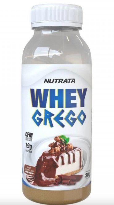Whey grego cheesecake chocolate