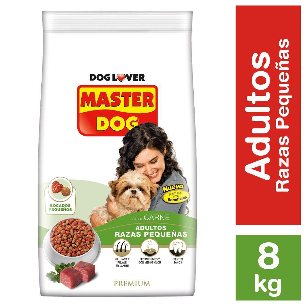 Alimento perro adulto raza pequeña sabor carne Bolsa 8 kg