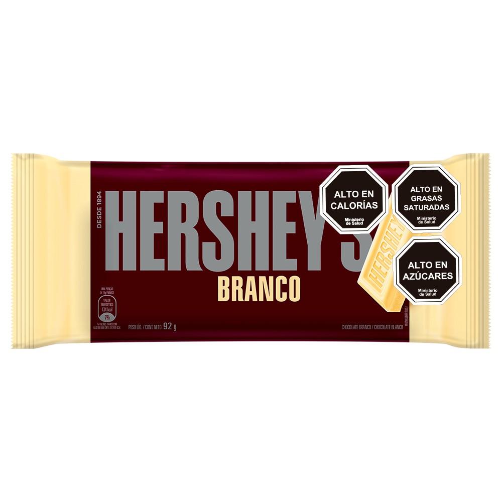 Barra chocolate blanco