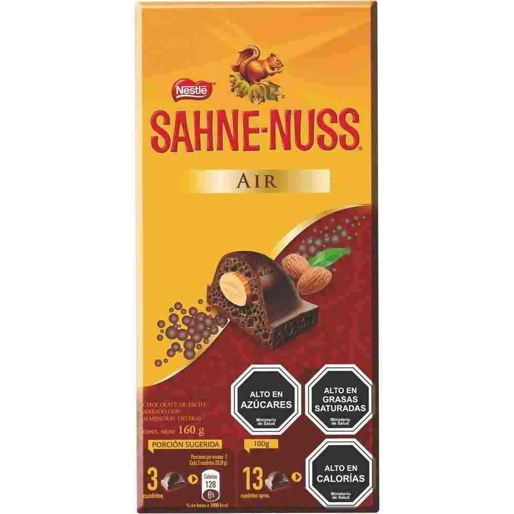 Chocolate con almendras Air