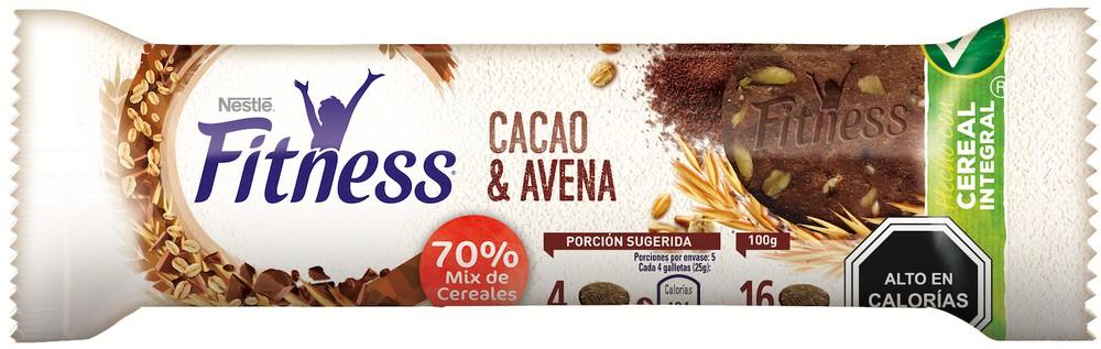 Galleta cacao y avena