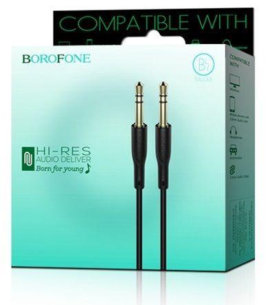 Cable de Audio AUX BL1 Audiolink Black Un