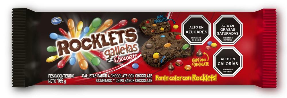 Galletas Rocklets Sabor Chocolate