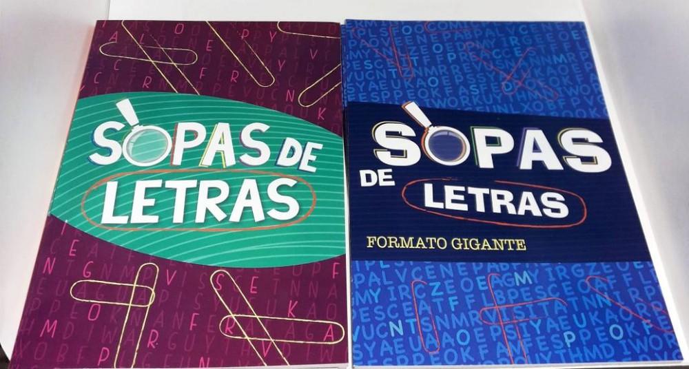 Sopas de letras Tapa Blanda 19x27 Cm