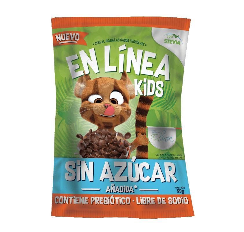 Hojuelas Kids sabor chocolate sin azúcar