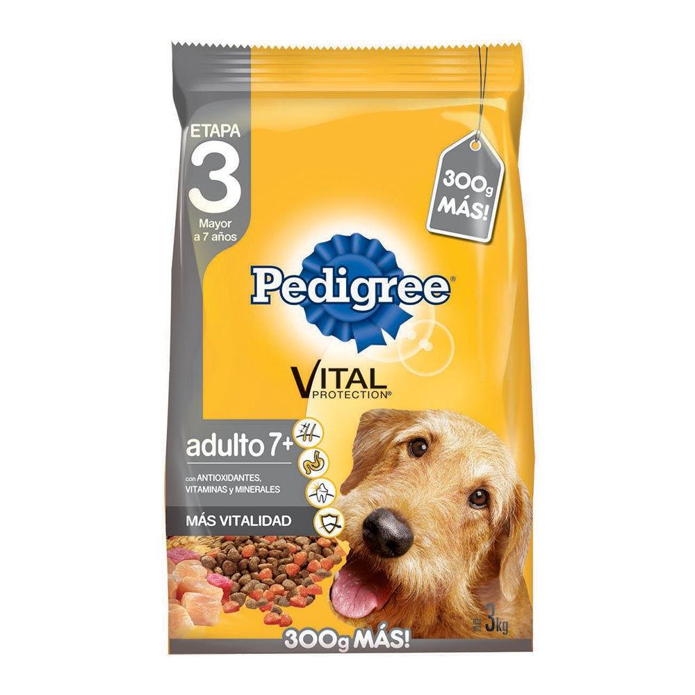 Alimento perro vital adulto 7+