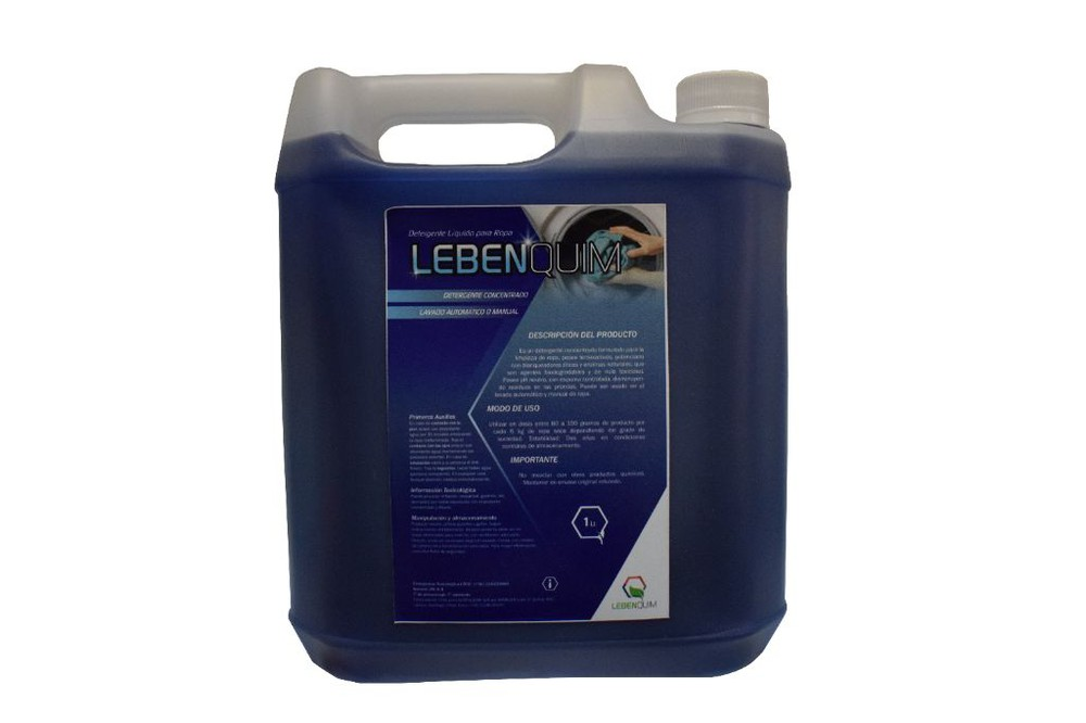 Detergente Líquido Para Ropa con Enzima - Biodegradable