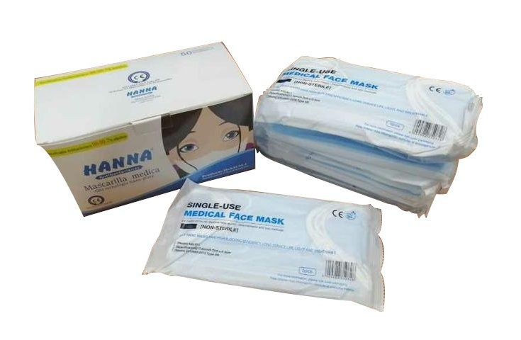 Mascarilla Antibacteriana de 3 Capas con Nano Plata