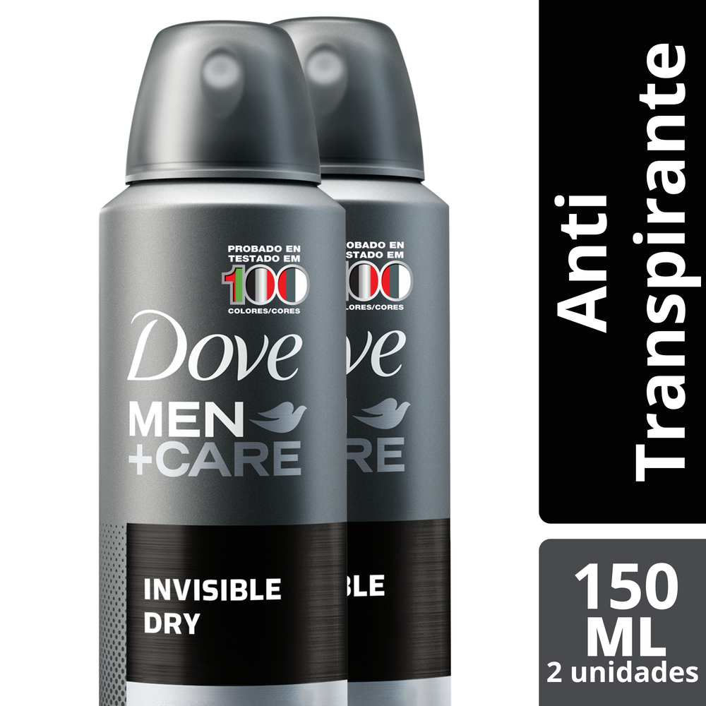 Pack antitranspirante Invisible Dry